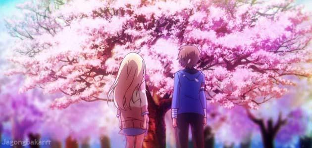 Sakurasou no Pet na Kanojo cover poster bercerita tentang Sinopsis Anime : Sakurasou no Pet na Kanojo