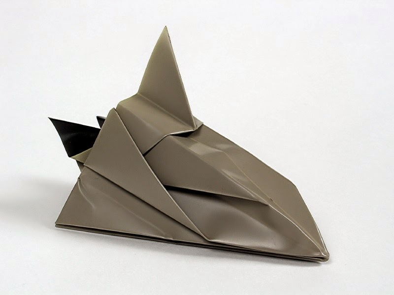 space shuttle origami - photo #15