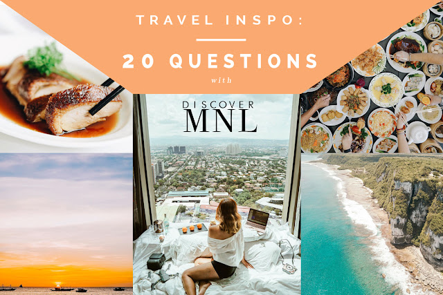 TRAVEL INSPO | 20 Questions with DiscoverMNL