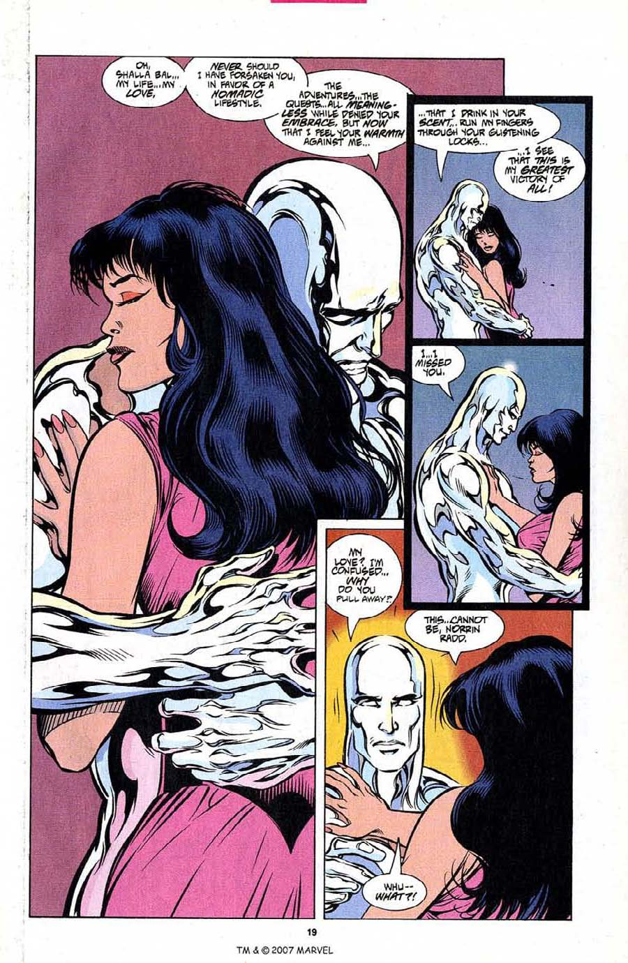 Silver Surfer (1987) Issue #101 #109 - English 21