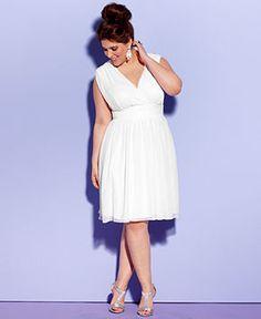 Stunning 45 Plus Size Bridal Shower Dress | bridal fashion