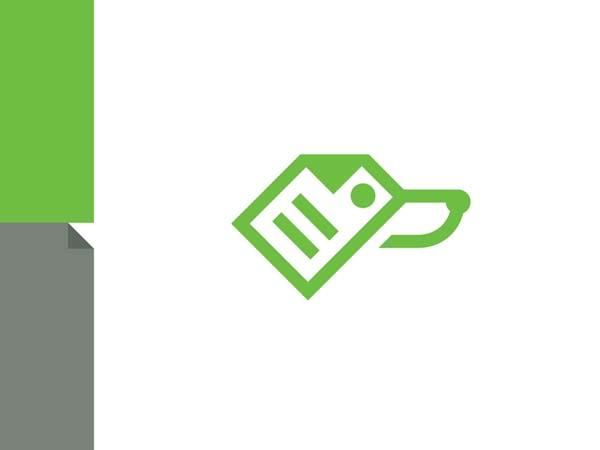 Inspirasi Desain Logo Monoline 2017 - FastDoc Monoline Logo