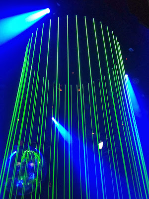 Laser lighting, dance floor, Bangkok, DJ, dancing, music,