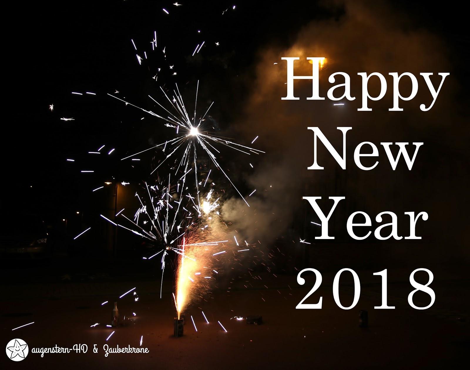 ✿ Happy New Year 2018 – Augensterns Welt