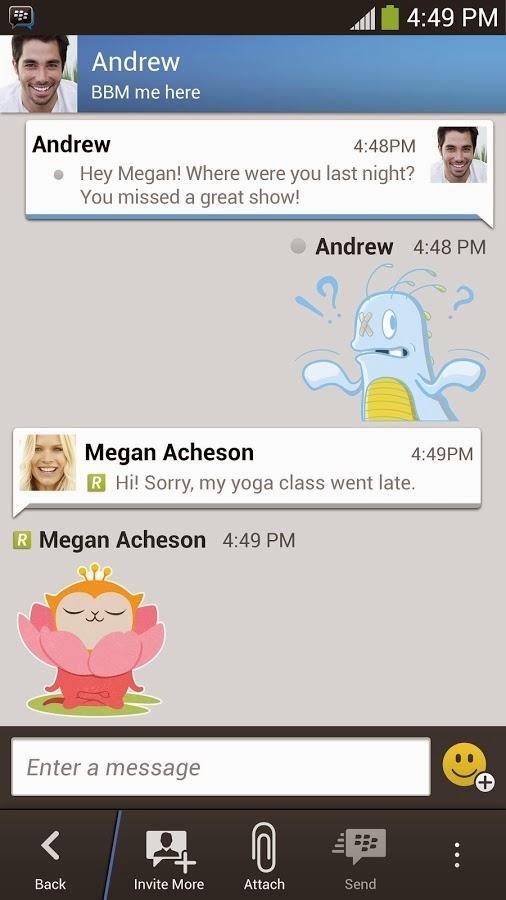 Dwonload BBM Terbaru V2.5.0.36 Untuk Android (Apk)