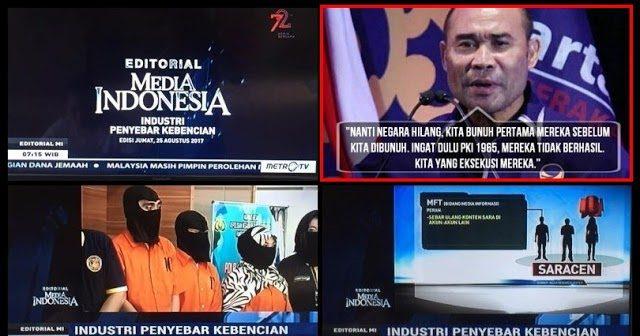 Saracen Dan Gorengan Metro Tv, Apa Kabar Victor Laiskodat?