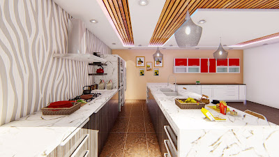 modern kitchen images in india