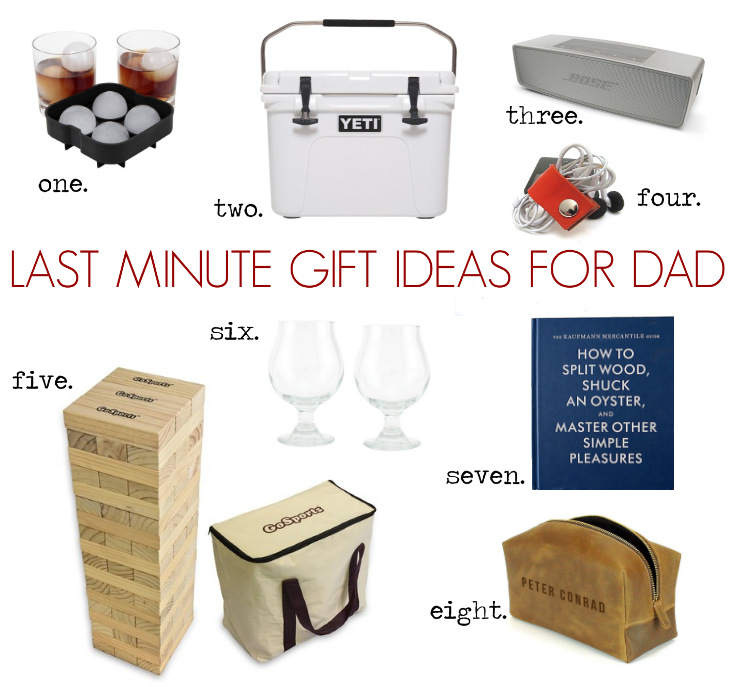 Last Minute Gift Ideas For Dad Cottage And Vine