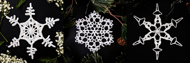 How to Crochet Snowflakes, Free Written Patterns And Video Tutorials