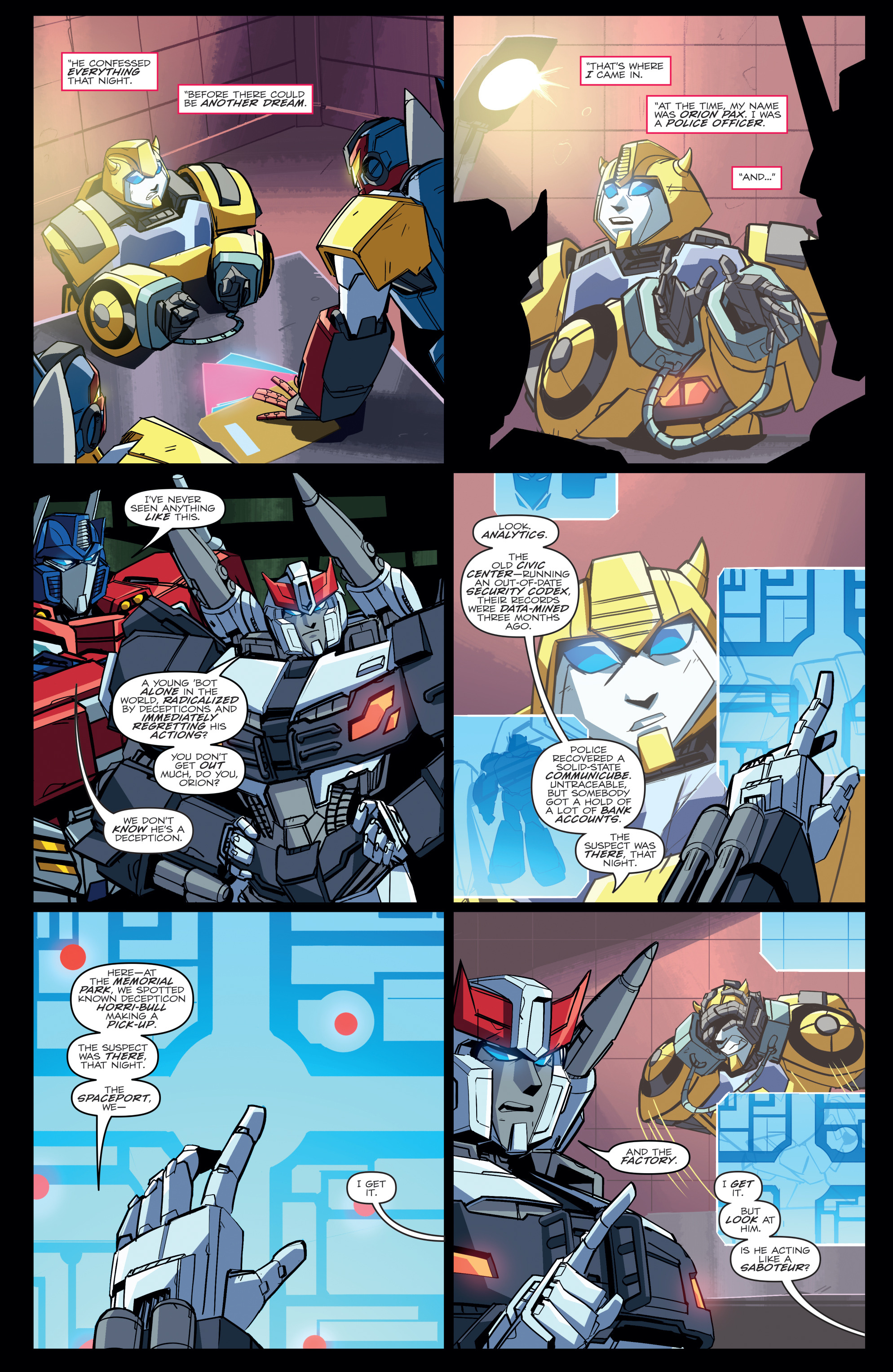 Read online Transformers Annual comic -  Issue # Full - 15
