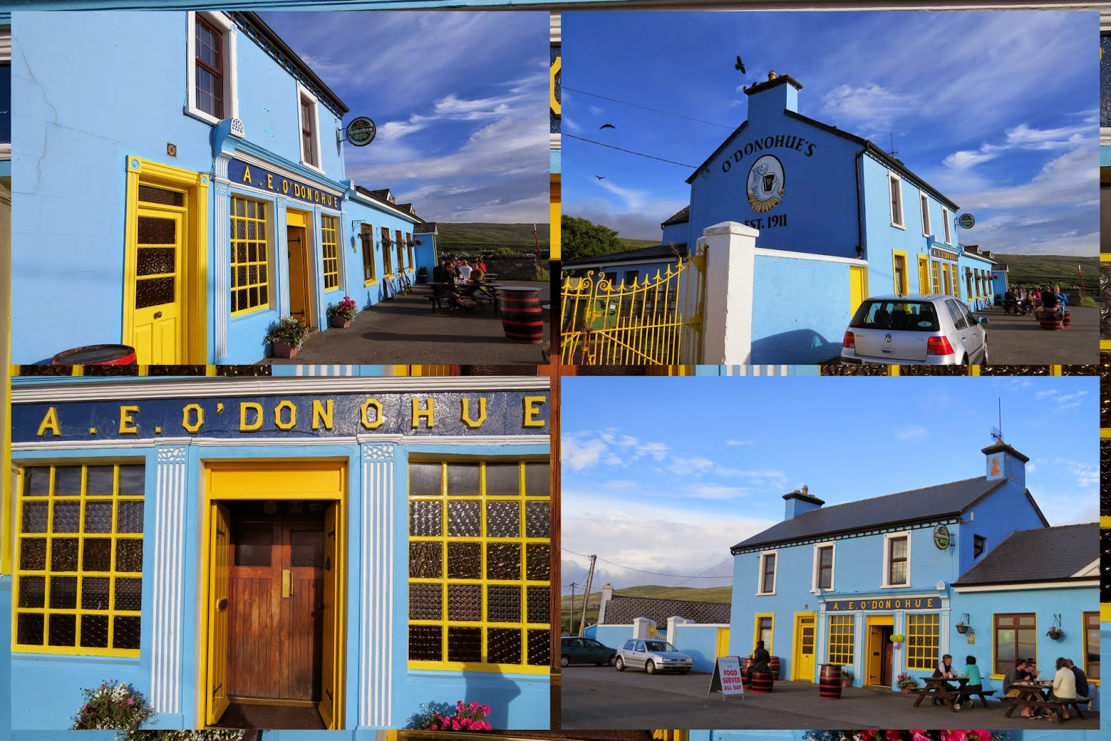 Dublin to Clare Road Trip: O'Donoghue's Fanore