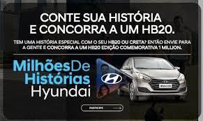 Promoção Milhões de Histórias Hyundai