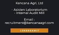 Lowongan Kerja Kencana Agri, Ltd