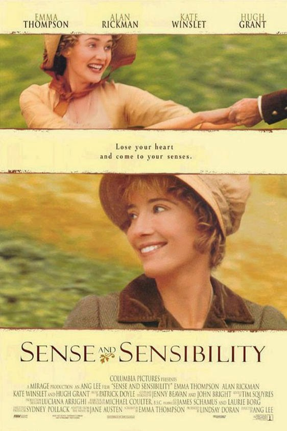 rozważna i romantyczna recenzja filmu winslet thompson grant rickman