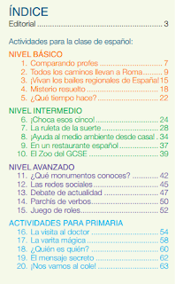 ACTI/ESPAÑA 16 MATERIALES ELABORADOS PARA LOS AUXILIARES DE CONVERSACIÓN DE ESPAÑOL