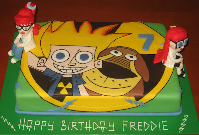 Johnny test cake