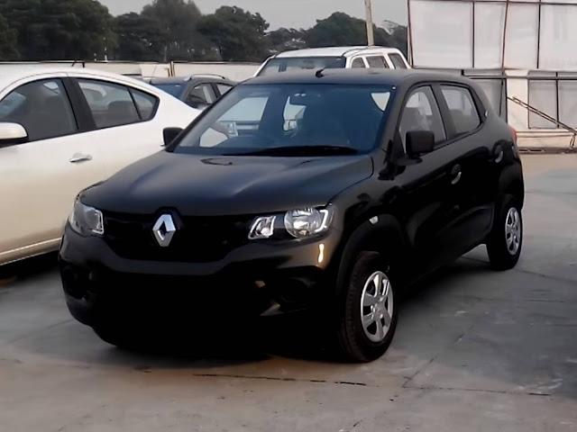 Novo Renault Kwid 2017 - Preto