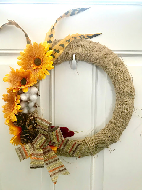 Dollar Tree Fall Wreath