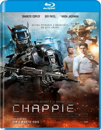 Chappie (2015) Dual Audio Hindi 720p BluRay x264 1.3GB ESubs Movie Download