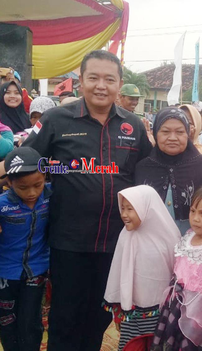 PDIP Lamteng Diwajibkan Dukung Program Gotong Royong