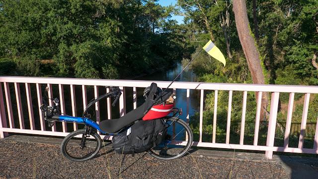 Vélodyssée, Contis-Plage le pont Rose