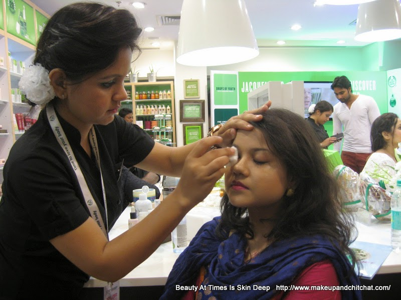 Nivedita| Kolkata Blogger| The Body Shop Drops of Youth Event