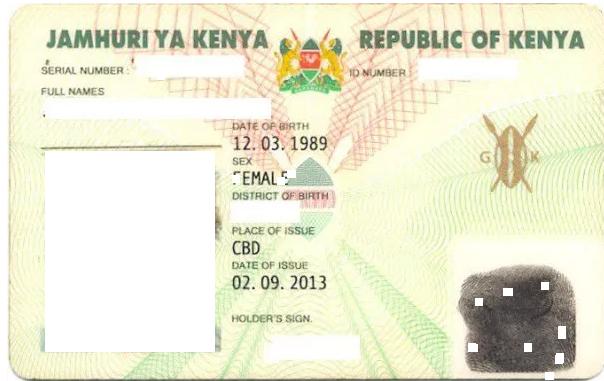 Id status online kenya dating