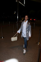 Neha Dhupia in Shirt Denim Spotted at Airport IMG 3534.JPG