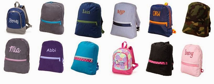 You Name It Baby! Personalized School Bags