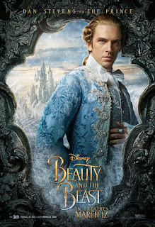 Beauty and the Beast (2017) Poster Dan Stevens Prince