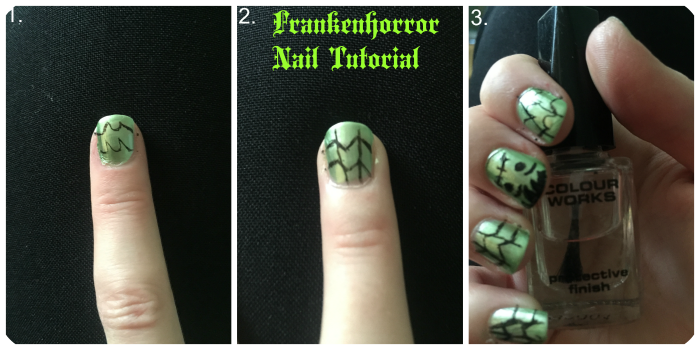 cobwebs nail tutorial