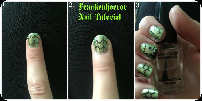 cobwebs nail tutorial