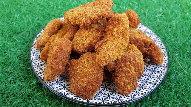 Pollo frito vegano estilo KFC