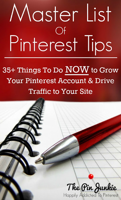 Master List of Pinterest Tips to Grow your Blog