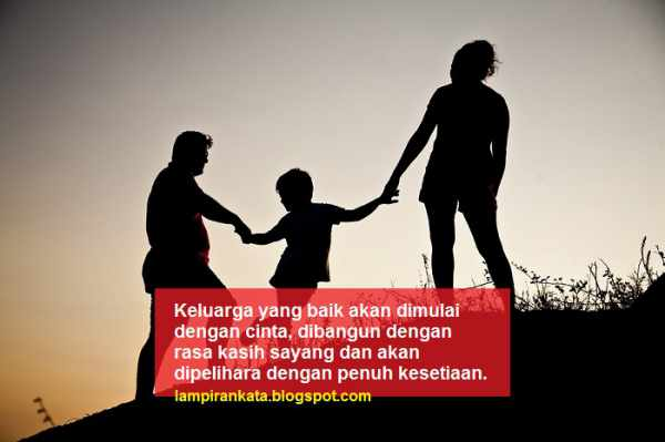 Kata Bijak Tentang Keluarga Kecil Bahagia