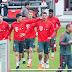 Fora da Copa, Sandro Wagner aparece abatido e chorando bastante no treino do Bayern