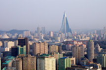 North Korea Pyongyang Skyline