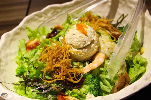 Watami Salad of Watama Japanese Restaurant