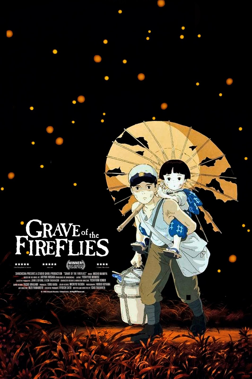 Watch Grave of the Fireflies (1988) Online For Free Full Movie English Stream