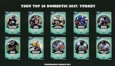 TDEU Top 10 Domestic 2017: TURKEY