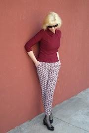 Wzorowe spodnie.