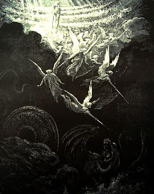 La Vierge couronnée d'étoiles (Vision de Saint Jean) de Gustave Doré