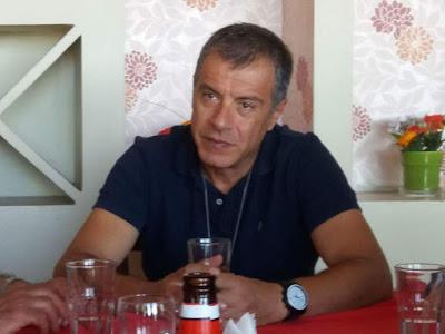 Επίσκεψη του Σταύρου Θεοδωράκη στην Θεσπρωτία (+ΒΙΝΤΕΟ)