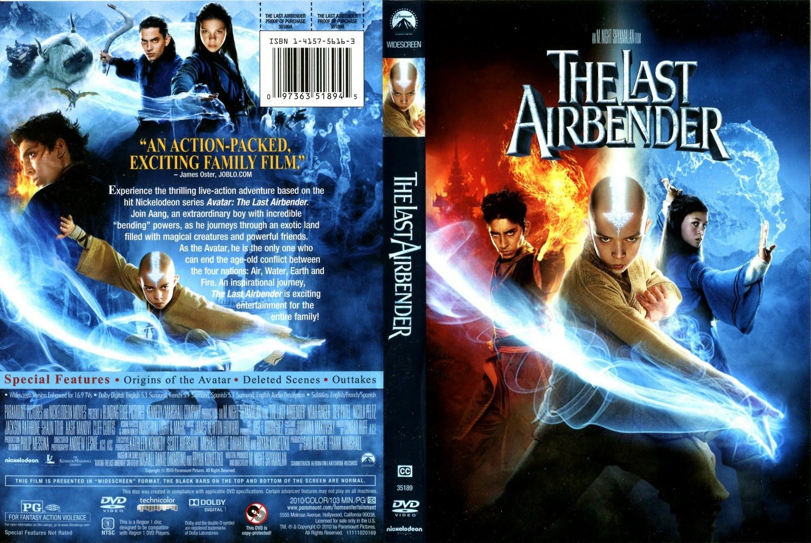 Movies Collection The Last Airbender 2010