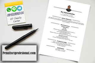 Jasa Desain CV Profesional