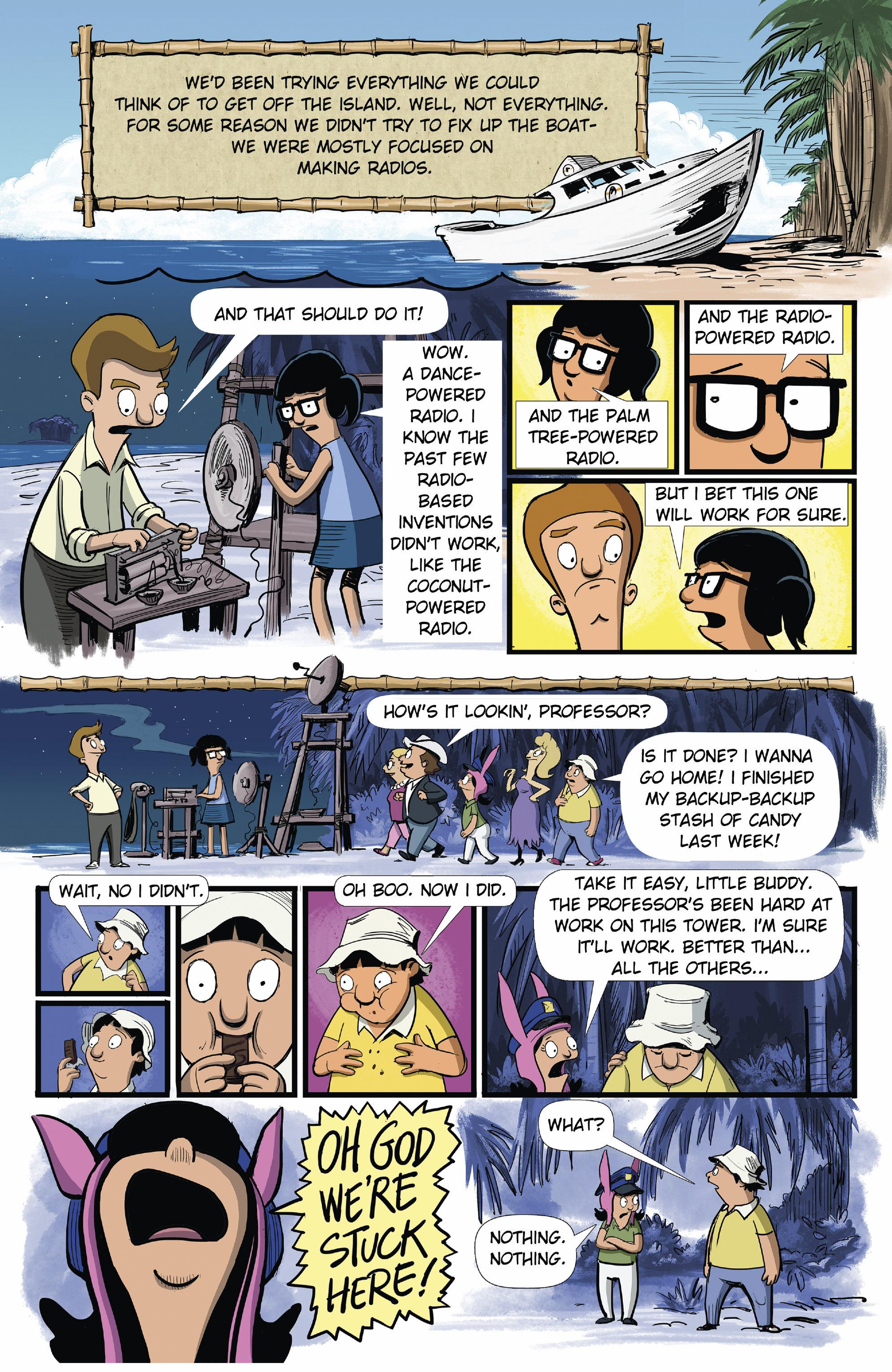 Bob's Burgers (2015) Issue #9 #9 - English 4