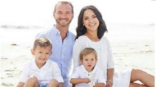 nick vujicic family