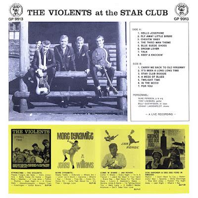 The Violents - AT The Star Club Hamburg