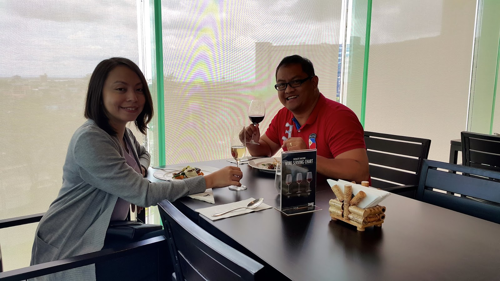 Valentine's Day Lunch at Planet Grapes Ayala Center Cebu