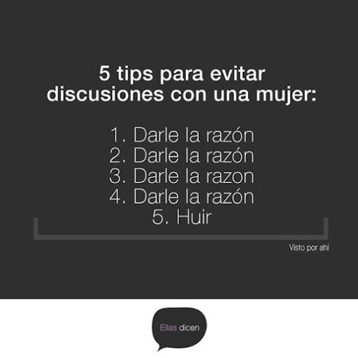 5 tips para evitar discutir con una mujer